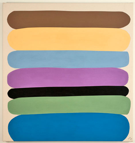 DAVID GOSLIN: New Color Paintings
